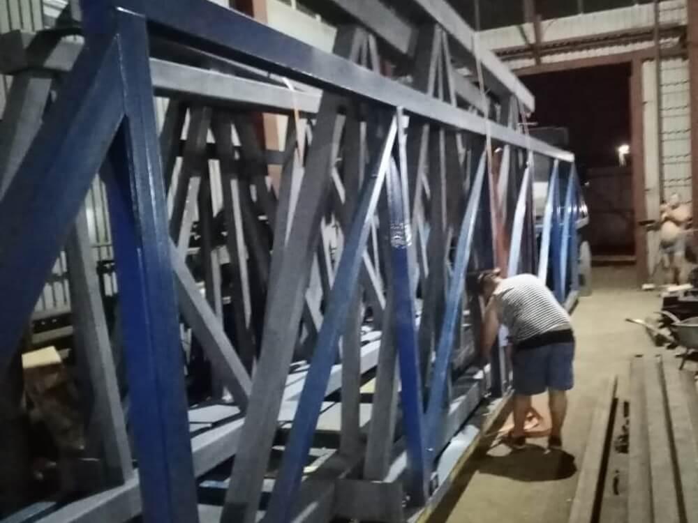 Ферма перед перевозкой